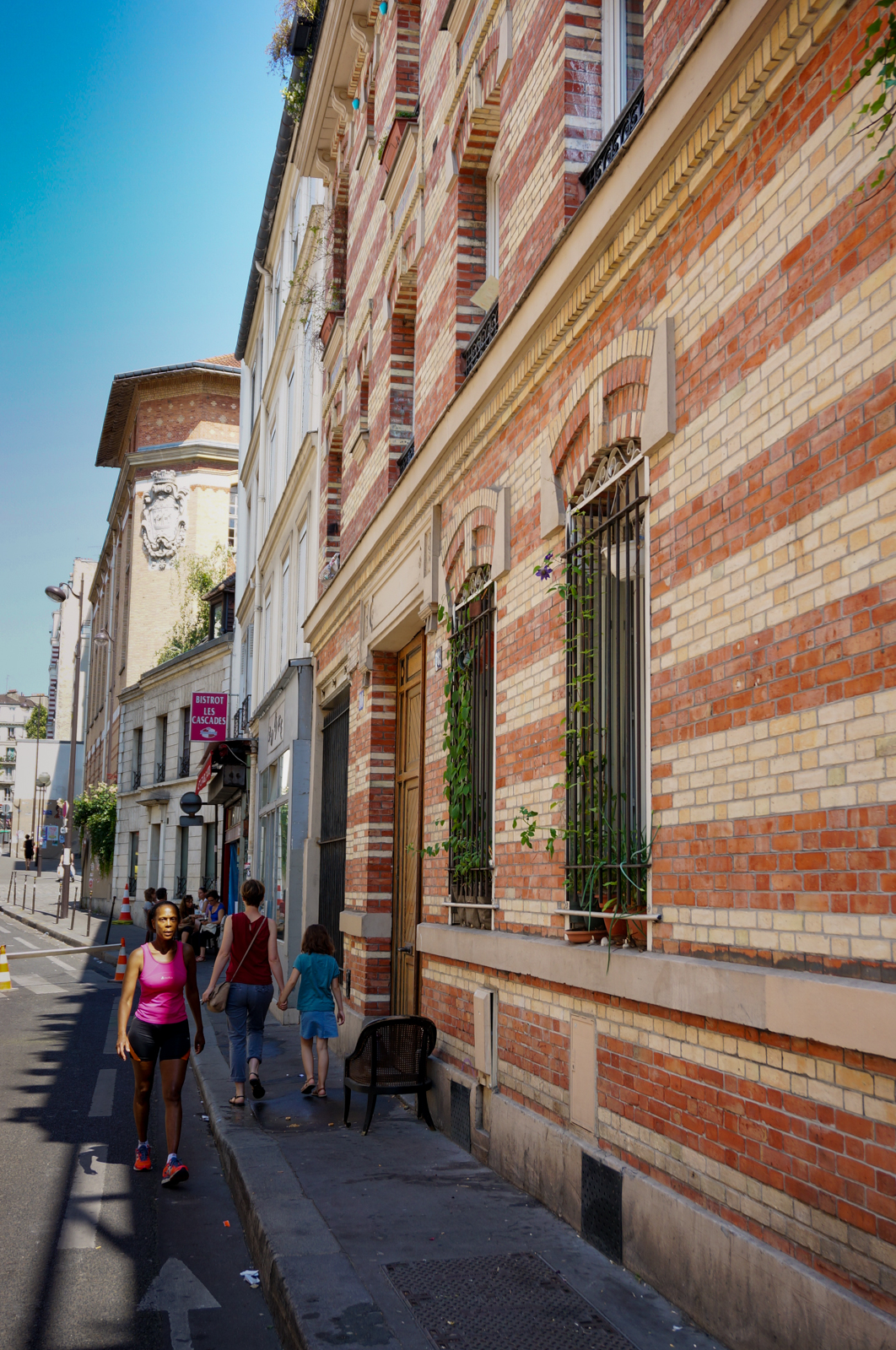 belleville, impasses secrètes paris, impasses paris 20, paris caché, paris secret, paris vert, paris village, paris différent, rue des cascades