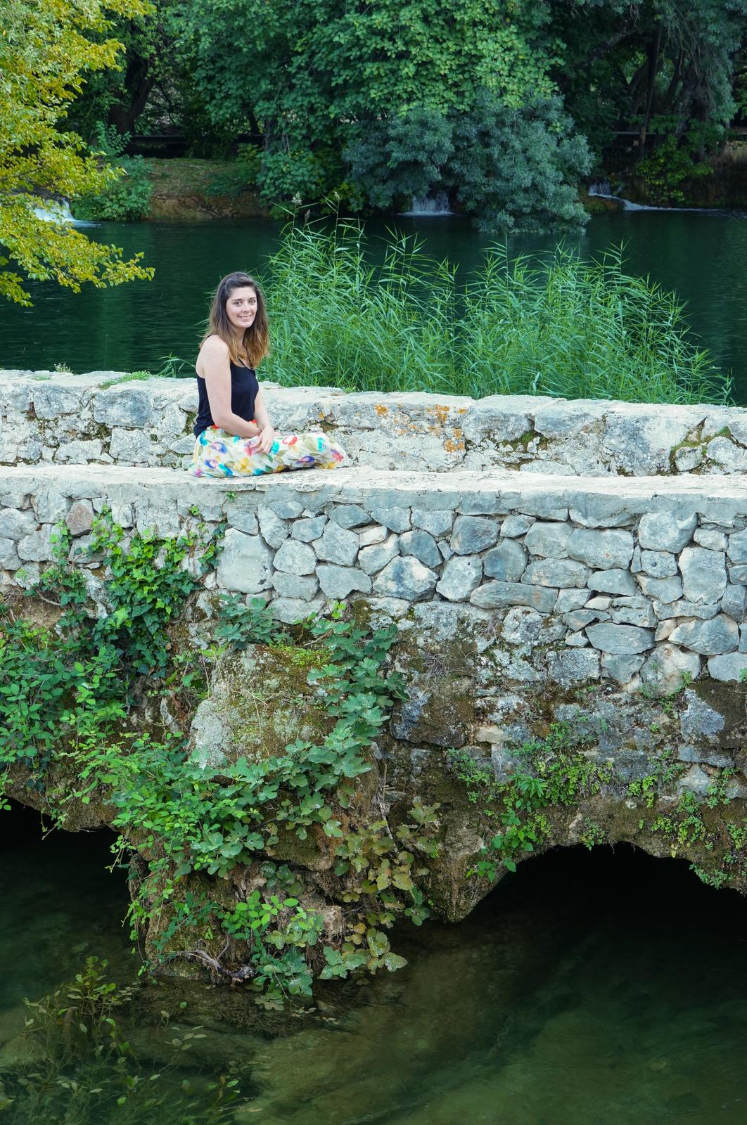 krka, cascade croatie
