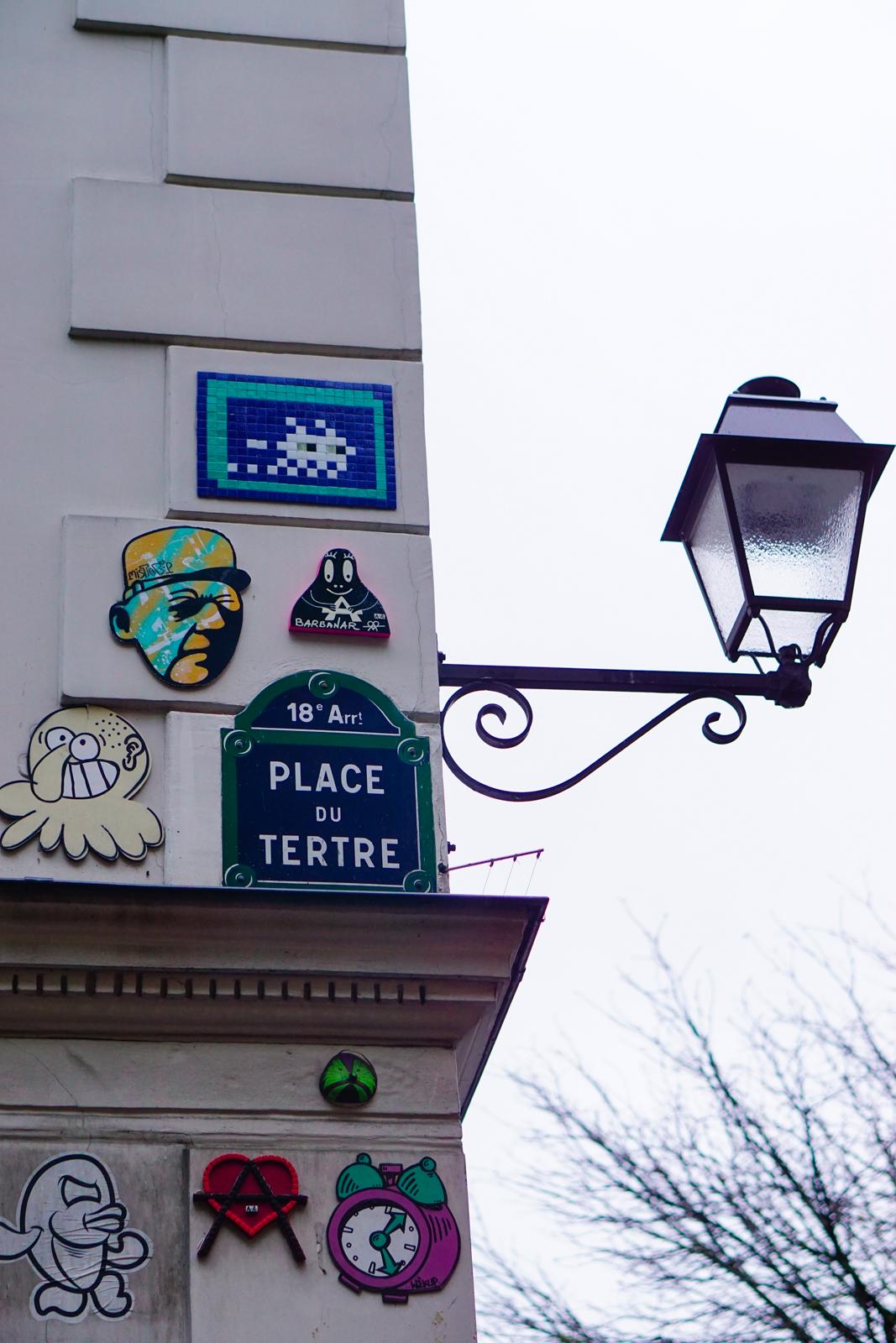montmartre, montmartre pluie, montmartre automne, balade automne paris, balade paris 18, itinéraire balade paris, paris original, paris authentique, paris street art, art urbain paris, graffiti paris, paris 18 street art, street art montmatre