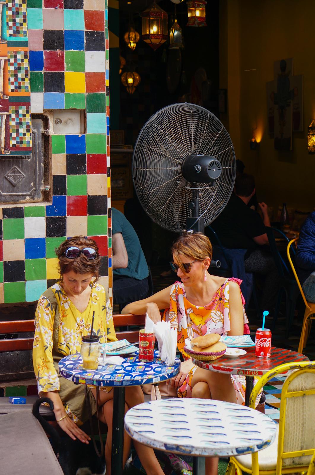 cantine gazelles, restaurant marrakech, idée restaurant marrakech, terrasse marrakech, marrakech