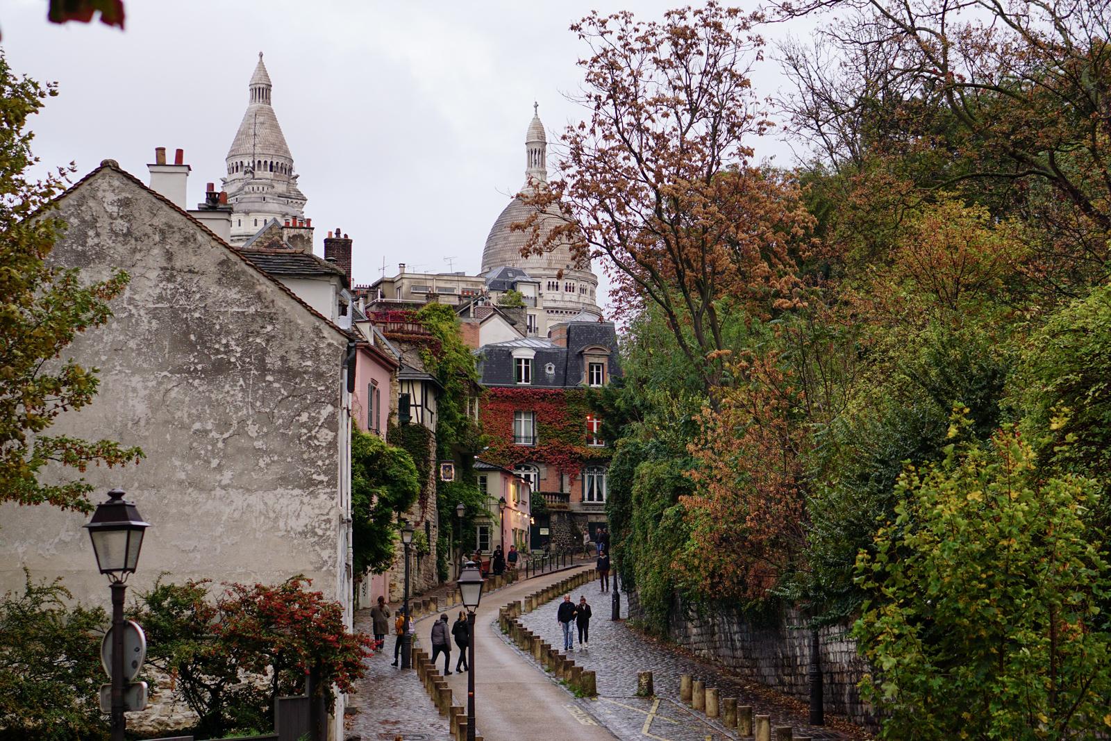 montmartre, montmartre pluie, montmartre automne, balade automne paris, balade paris 18, itinéraire balade paris, paris original, paris authentique