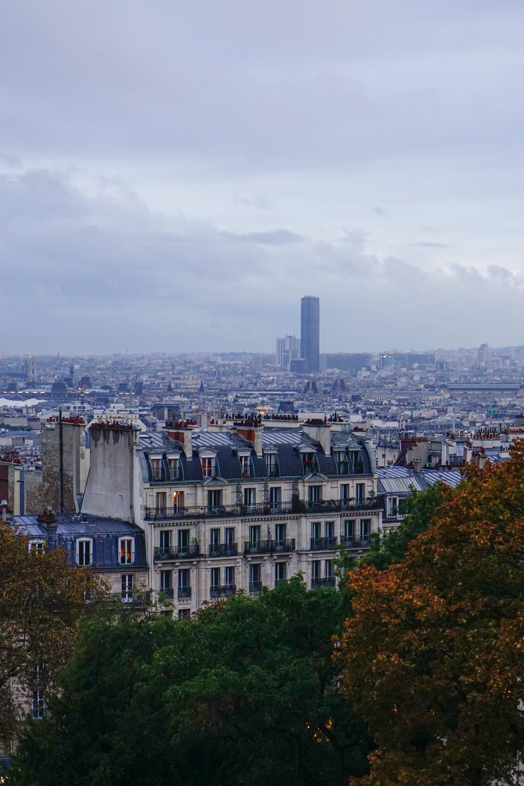 montmartre, montmartre pluie, montmartre automne, balade automne paris, balade paris 18, itinéraire balade paris, paris original, paris authentique, sacré-coeur