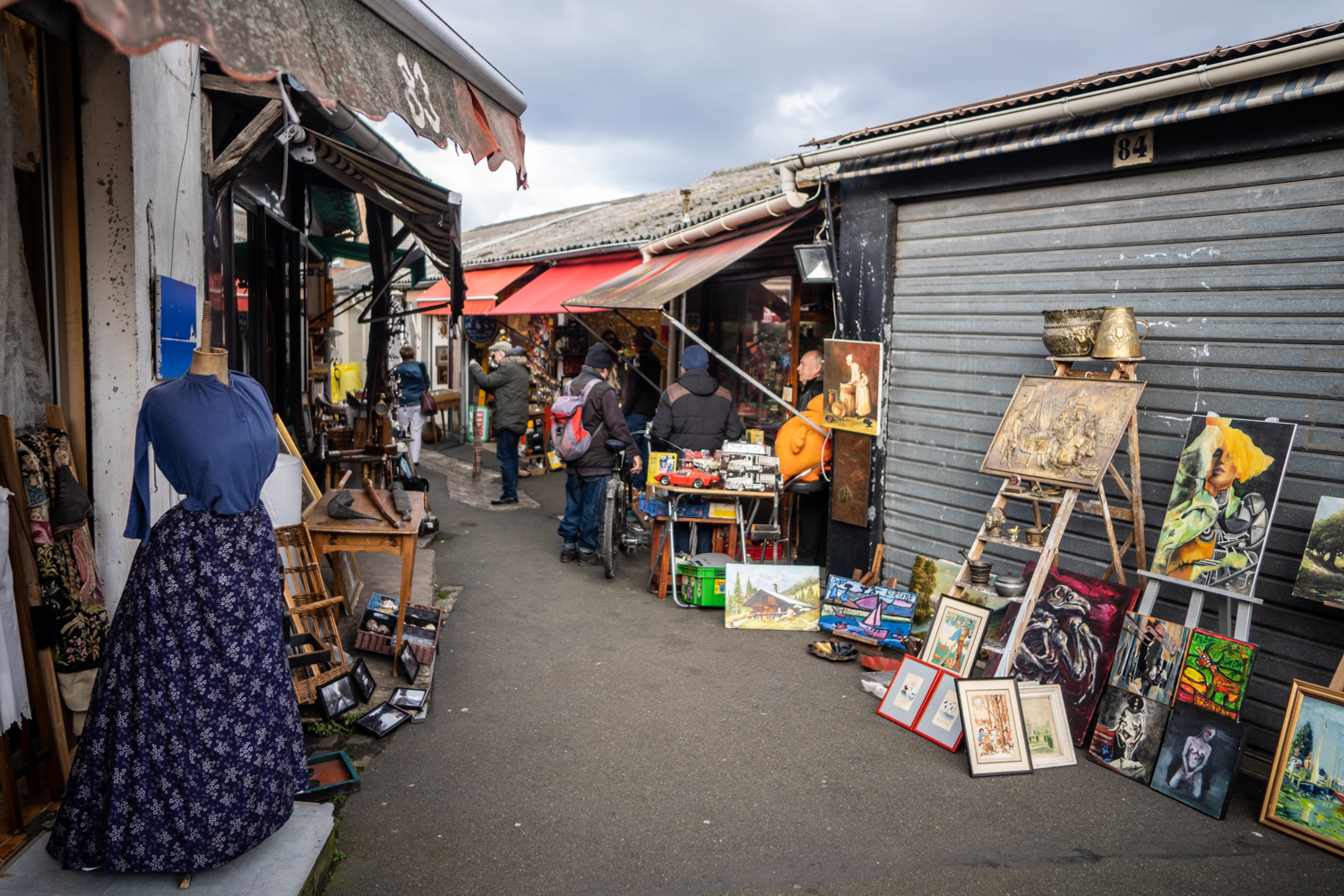 puces de saint-ouen, paris face cachée 2019, paris face cachée, chiner à paris, puces paris, antiquaire paris, marché antiquités paris