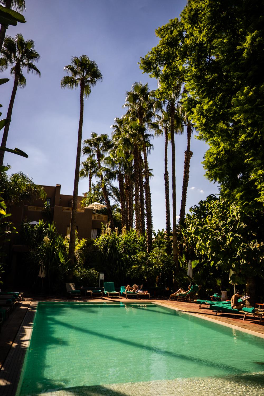 jardins médina marrakech, jardins médina, avis jardins médina, piscine jardins médina