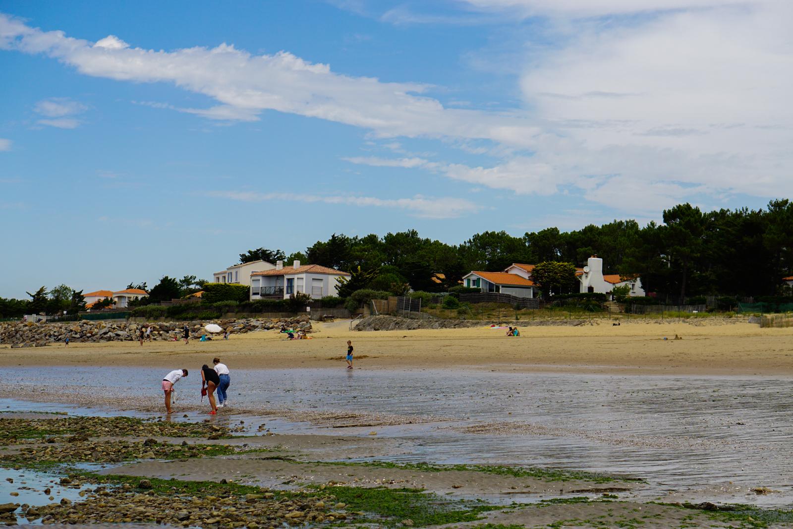 tranche sur mer, tranche-sur-mer, vendée, plage vendée, idée balade vendée, plage grière vendée, marée basse vendée, avenue nolleaux tranche sur mer